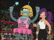 Gender Bender from Futurama