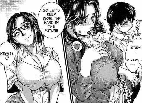 Sex Education hentai, big tits women