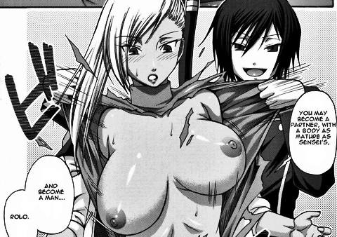 Villetta Nu hentai big dark tits torn dress