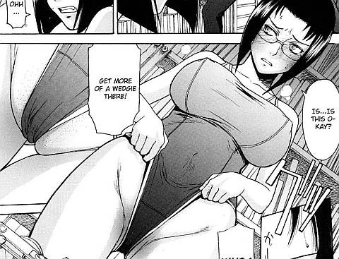 Wedgie hentai Comics on