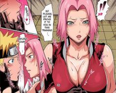 Naruto x Sakura Sex Training Cleavage