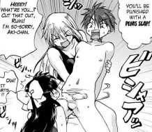 Kazoku Donburi Penis Slap hentai manga