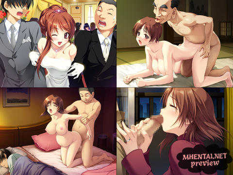 Pregnant cheating wife netorare hentai game