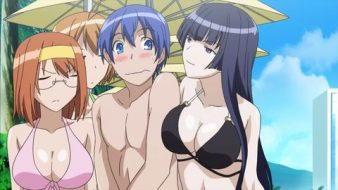 Kampfer Ecchi Bikini Cleavage