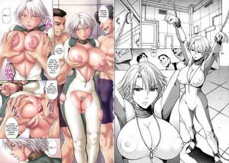 Christie in Bodysuit Hentai Manga