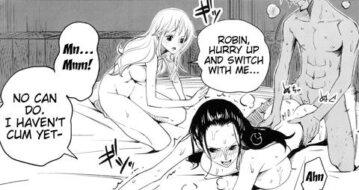 Sanji Fucks Robin Hentai Doujin