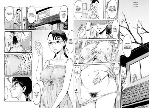Depraved mother pregnant belly hentai manga