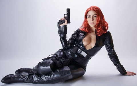 Black Widow Porn Parody