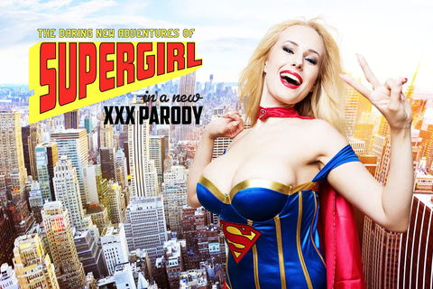 Supergirl Porn Parody (Cosplay)